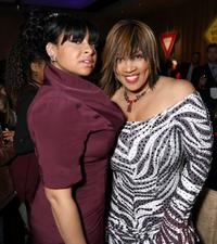 Raven-Symone and Kym E. Whitley at the after party of the premiere of