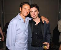 Tony Goldwyn and Zach Braff at the Cinema Society and DKNY Jeans' screening of