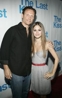 Tony Goldwyn and Rachel Bilson at the listening party of