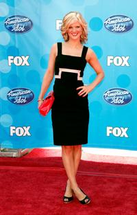 Arden Myrin at the American Idol Season 7 Grand Finale.