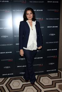 Zuleikha Robinson at the New York screening of