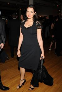 Zuleikha Robinson at the second annual anniversary gala for Charity: Water.