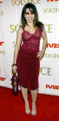 Delilah Cotto at the Solstice Spring 2003 Fashion Party.