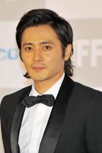 Jang Dong-gun at the opening ceremony of 13th Pusan International Film Festival.