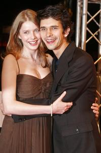 Rachel Hurd-Wood and Ben Whishaw at the premiere of