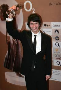 Ben Whishaw at the ceremony of the Diva Award.