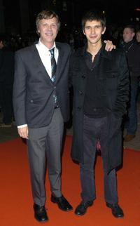 Ben Whishaw and Todd Haynes at the premiere of