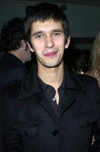 Ben Whishaw at the after party of the premiere of