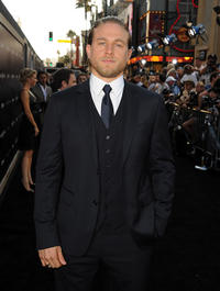 Charlie Hunnam at the Hollywood premiere of