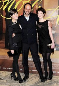 Diane Fleri, Luca Guadagnino and Alba Rohrwacher at the screening of