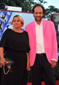 Silvia Venturini Fendi and Luca Guadagnino at the premiere of