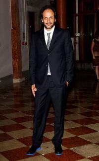 Luca Guadagnino at the Uomo Vogue Hosts Dinner For Quentin Tarantino during the 67th Venice International Film Festival.