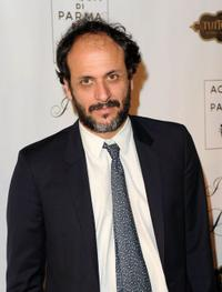 Luca Guadagnino at the New York premiere of