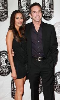 Sheetal Sheth and Jeff Probst at the 42nd Annual Academy of Magical Arts Awards.