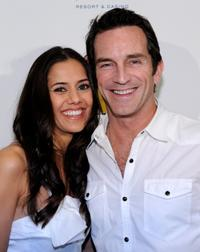 Sheetal Sheth and Jeff Probst at the world premiere of