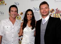Jeff Probst, Sheetal Sheth and Ryan Seacrest at the world premiere of