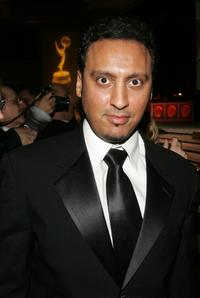 Aasif Mandvi at the 50th Annual New York Emmy Awards Gala.
