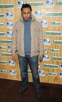 Aasif Mandvi at the Entertainment Weeklys Sundance Party.
