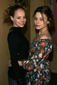 Bijou Phillips and Lauren German at the premiere of