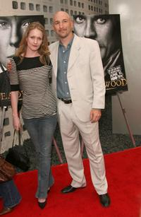 Paula Malcomson and Dan Hildebrand at the premiere of