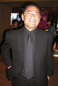 Mike Gomez at the after party of the 7th Annual Los Angeles Latino International Film Festival.