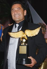 Mike Gomez at the Nosotros Golden Eagle Awards.