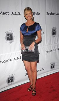 Nancy O'Dell at the Project A.L.S Presents Sarah Silverman Live In Concert.