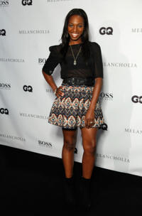 Enuka Okuma at the Hugo Boss / GQ party during the 2011 Toronto International Film Festival.