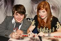 Spencer Breslin and Zena Grey at the Meet and Greet with the stars of