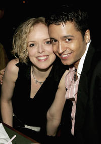 Nancy Anderson and Jai Rodriguez at the after party of the 2nd Annual EMBRACE! Concert in New York.