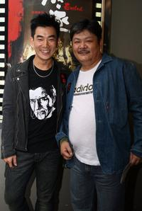 Richie Ren and Lam Suet at the premiere of