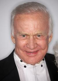 Buzz Aldrin at the official after party of NBC, Universal Pictures and Focus Features' during the 66th Annual Golden Globe Awards.