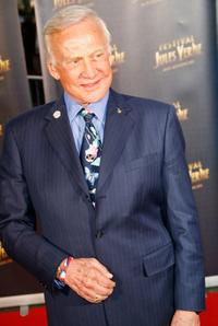 Buzz Aldrin at the Jules Verne Adventure Film Festival.
