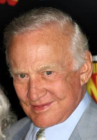 Buzz Aldrin at the premiere of
