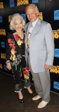 Lois Aldrin and Buzz Aldrin at the premiere of