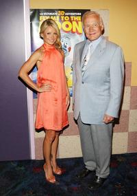 Kelly Ripa and Buzz Aldrin at the special screening of
