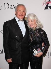 Buzz Aldrin and Lois Aldrin at the 2009 GRAMMY Salute To Industry Icons.
