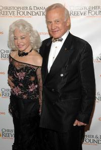 Lois Aldrin and Buzz Aldrin at the