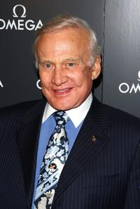 Buzz Aldrin at the 40th anniversary celebration of
