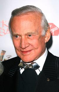Buzz Aldrin at the