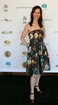 Ursula Burton at the Green Living Lifestyle Emmy Lounge.