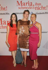 Mina Tander, Neele Leana Vollmar and Uli Putz at the world premiere of