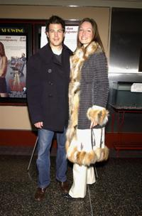 Dan Montgomery and Kara Correll at the premiere of