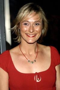Caroline Goodall at the premiere screening of