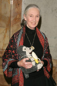 Jane Goodall at the Wings WorldQuest 2007 Women Of Discovery Awards Gala in New York.