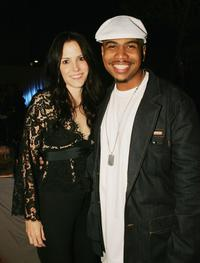 Mary-Louise Parker and Omar Gooding at the after party of the premiere of