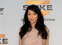 Claudia Black at the Spike TV's 7th Annual Video Game Awards.