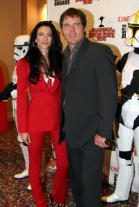 Claudia Black and Ben Browder at the 29th Annual Saturn Awards.