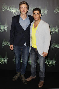 Ryan Corr and Firass Dirani at the Australian premiere of