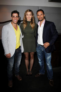 Firass Dirani, Cheree Cassidy and Dan Mor at the Australian premiere of
